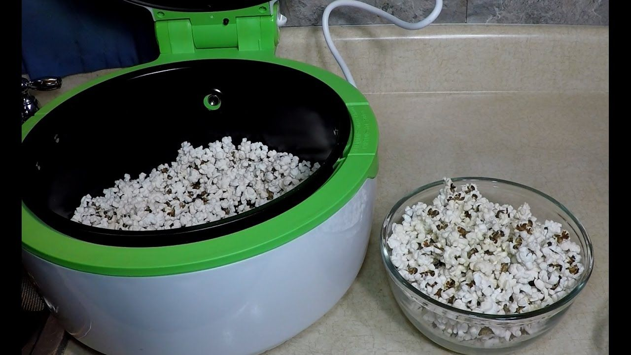 Air Fryer Popcorn GoWise USA Air fryer recipes, Food