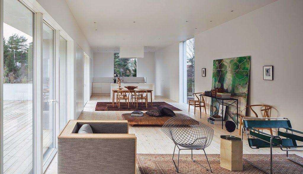simplicity love: Villa Mörtnäs, Sweden   Fourfoursixsix