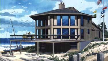 Contemporary Style House Plan 2 Beds 2 Baths 1936 Sq Ft Plan 320 1184