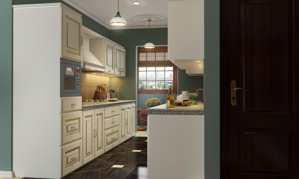 Shop For Lois Parallel Modular Kitchen Online In India Great Interior Designs One Kitchen Cabinets Prices L Shaped Modular Kitchen Wholesale Kitchen Cabinets