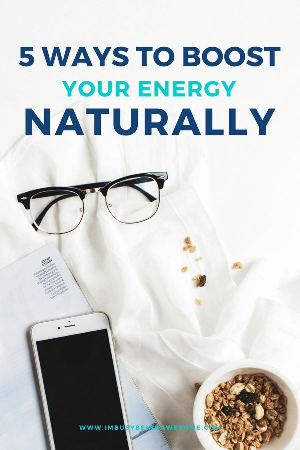 Boost Your Energy Naturally With These 5 Simple Strategies Are you in need of an energy boost? Are y...