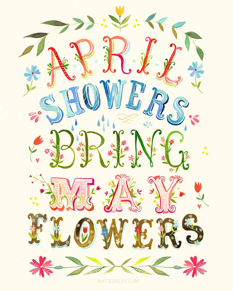 Image result for april showers