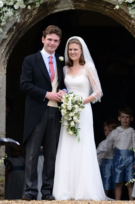 Prince william prince harry and pippa middleton attend for Julian alexander wedding dresses