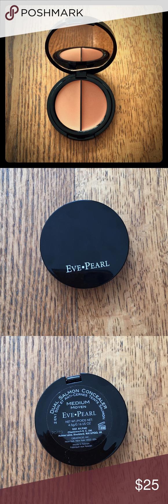 Eve Pearl Dual Salmon Concealer Brand new full size dual salmon concealer in medium. Eve Pearl Makeup Concealer