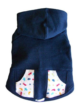 Eco Pup Garden Hoodie: Miles and I are both really into the adorable print on the pockets