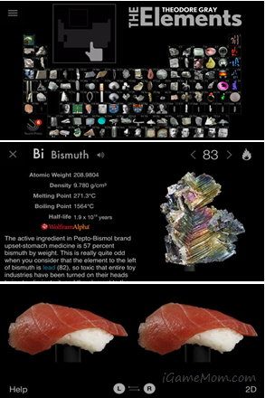 The elements a visual exploration app chemistry and periodic table the elements a visual exploration interactive book app about elements may not free anymore urtaz Gallery