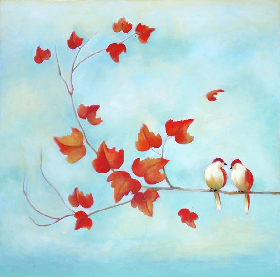love birds sky blue painting love birds sky blue fine art