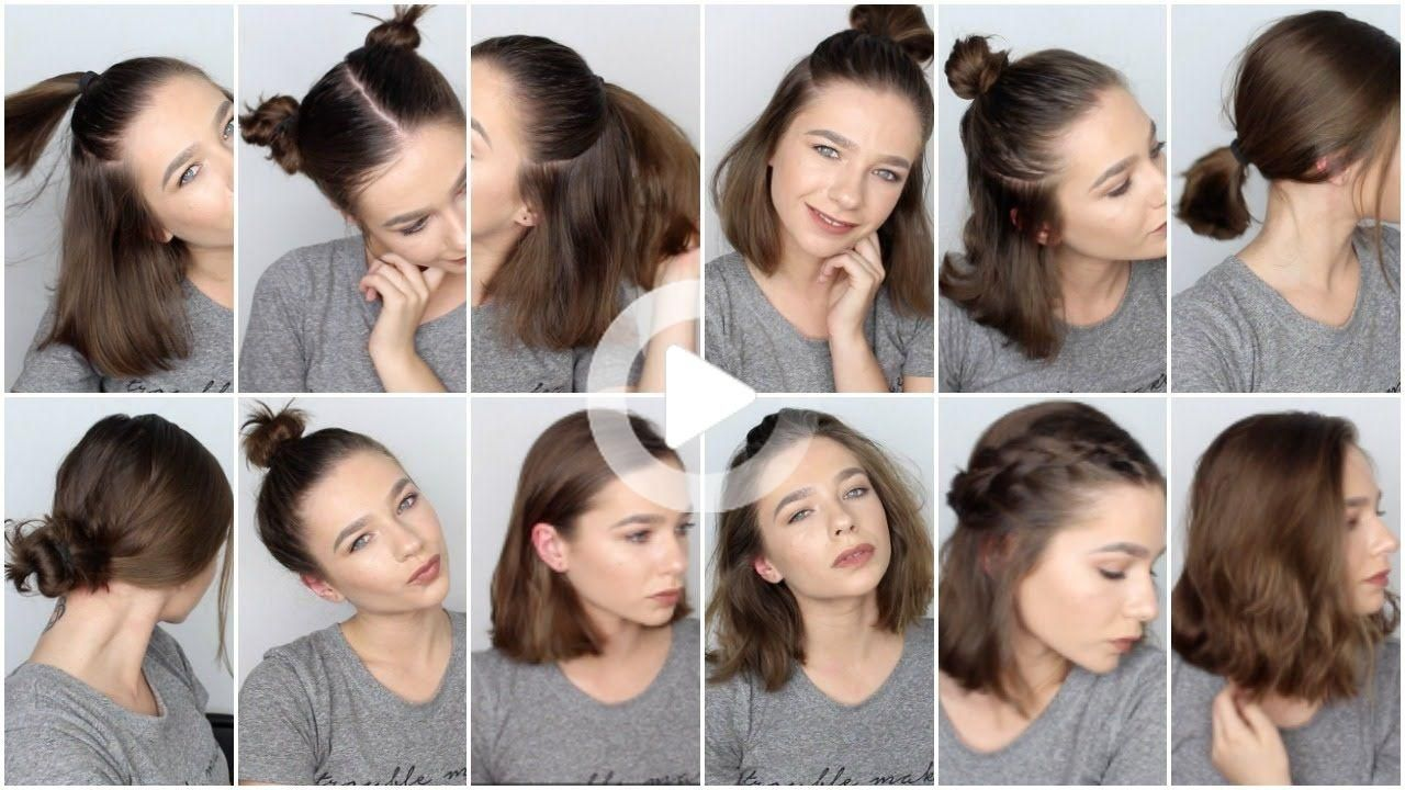 Pin On Easy Hairstyles For Short Hair