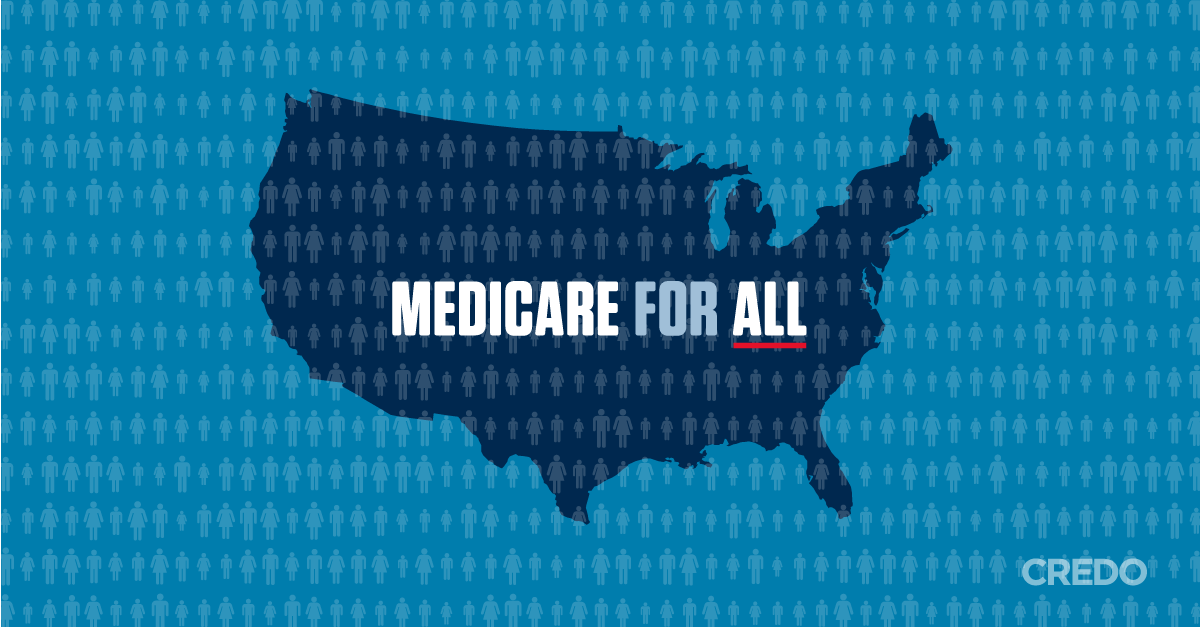The problems with American health care are caused by predatory insurance companies and monopolies, not Obamacare. It's time to expand the most popular and efficient health care program in the country by passing legislation to provide Medicare to all Americans.
