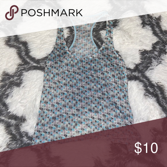 Aeropostale Geometric Pattern Tank Top -Very soft -Amazing condition Aeropostale Tops Tank Tops #crochettanktops