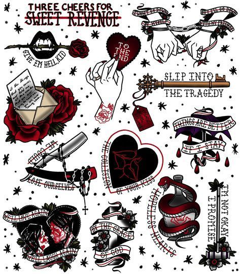 19 Ideas Music Tattoo Ideas Bands My Chemical Romance -  19 Ideas Music Tattoo Ideas Bands My Chemical Romance  - #bands #chemical #Ideas #music #musictattooideas #romance #Tattoo #tattooideascollarbone #tattooideasformen #tattooideassmall #tattooideasunique #wolftattooideas