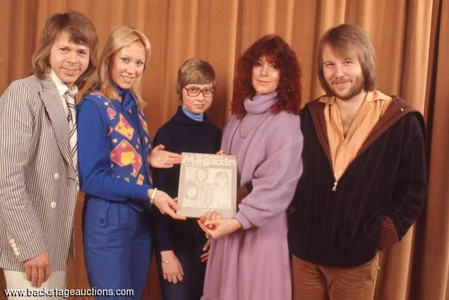 1004: ABBA 1978 Movie Press Conference Lot of 67 Color Slides With Full Rights - Store - Backstage Auctions, Inc.
