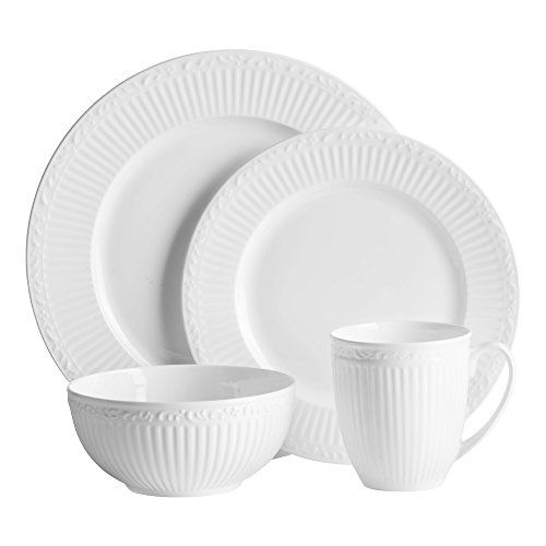 Mikasa Italian Countryside Bone 16 Piece Dinnerware Set