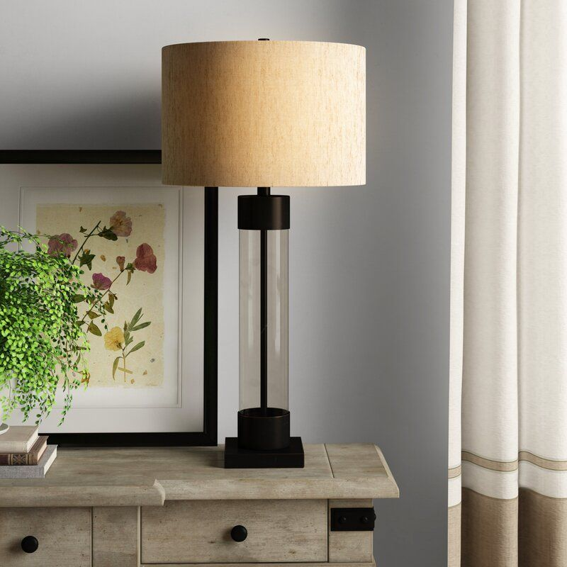 Eileen 33 Table Lamp In 2020 Table Lamp Lamp Glass Center