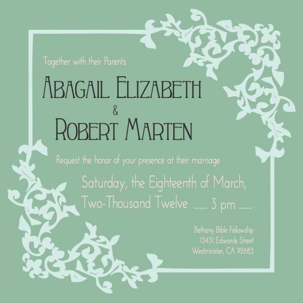 nice 10 post wedding celebration invitations Check more at http ...