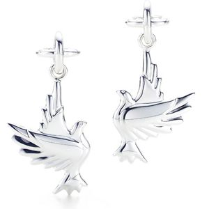 357e929fd Tiffany & Co Paloma Picasso Dove Earrings | Jewels | Stuff to buy ...