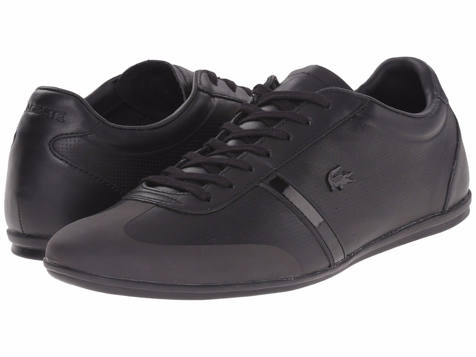10b53b904ea3b Men S Shoes Lacoste Mokara 116 1 Leather Sneaker 7-31Cam0125024 Black     https