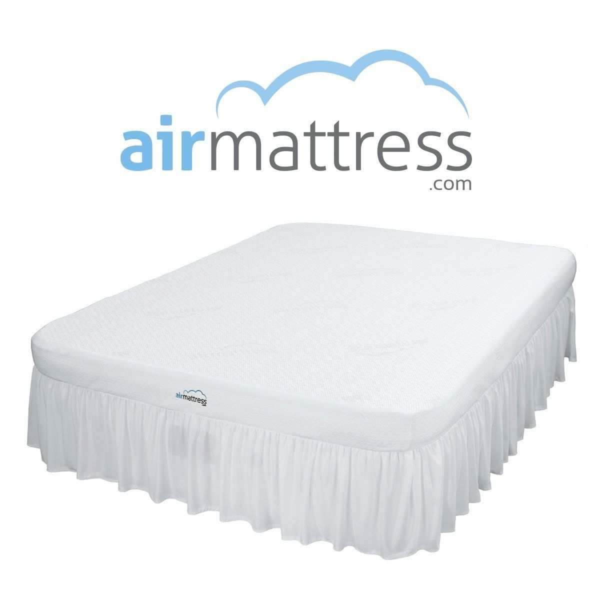 Best Choice RAISED Inflatable Bed with Fitted Sheet ... Air Mattress FULL size