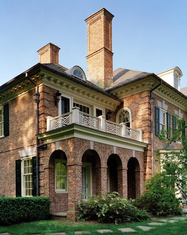 Beautiful brick home - love the archways and moulding
