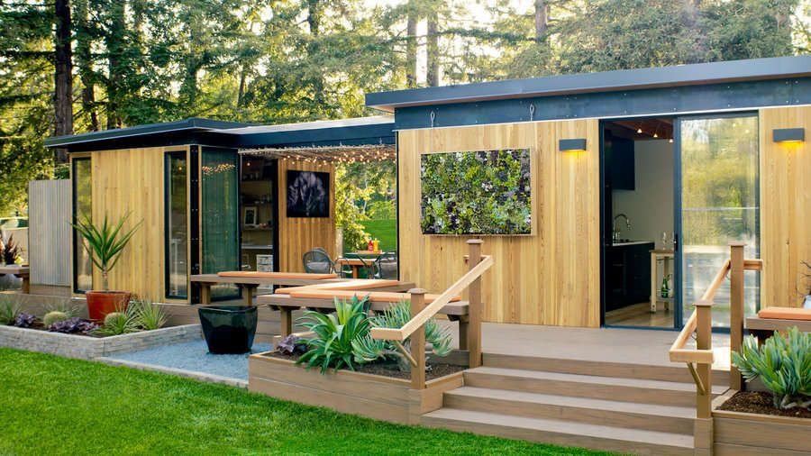 Modern Cottage Prefab Backyard Cottage Modern Cottage Cottage Exterior