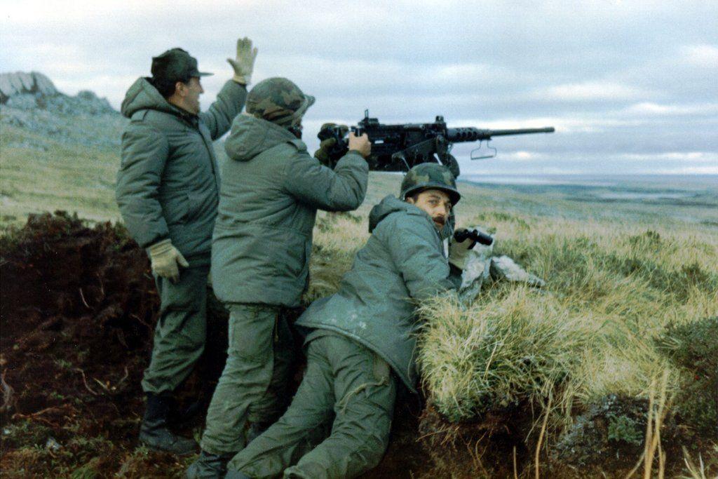 Pin en Falklands war