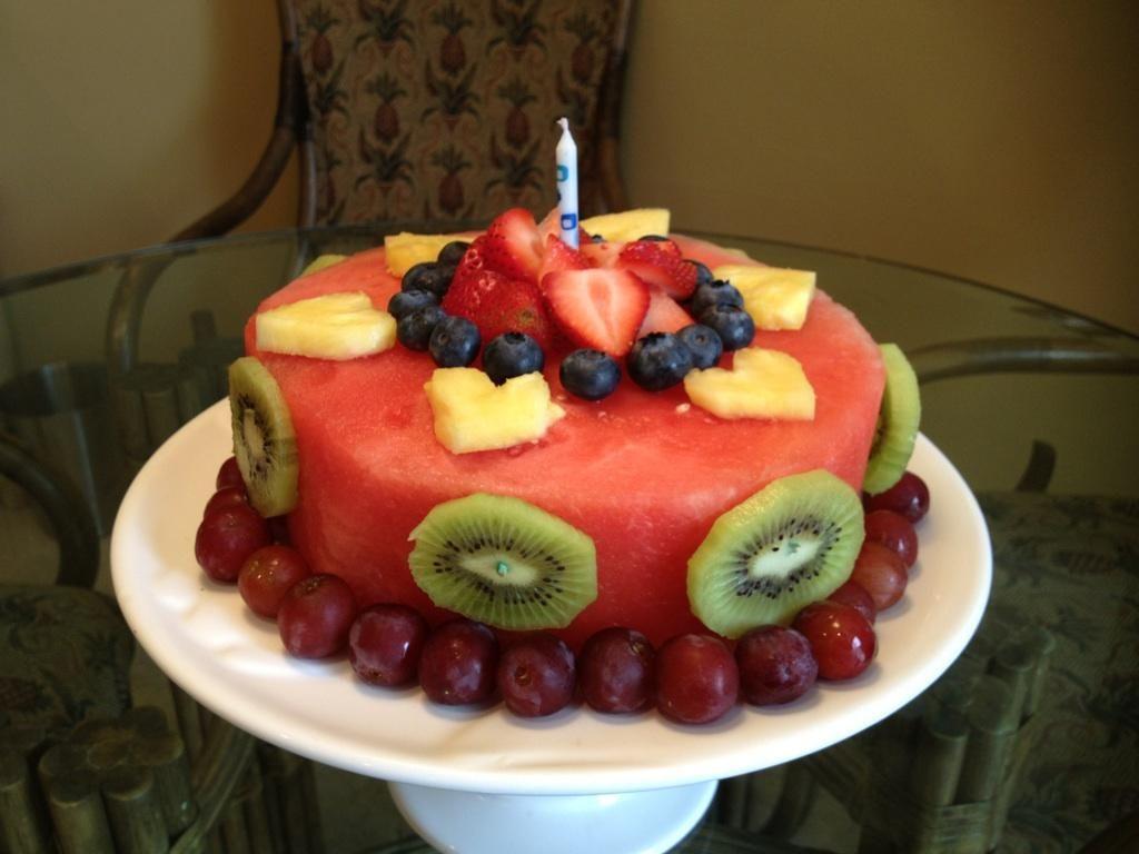 Healthy birthday cake   Yummy!   Pinterest