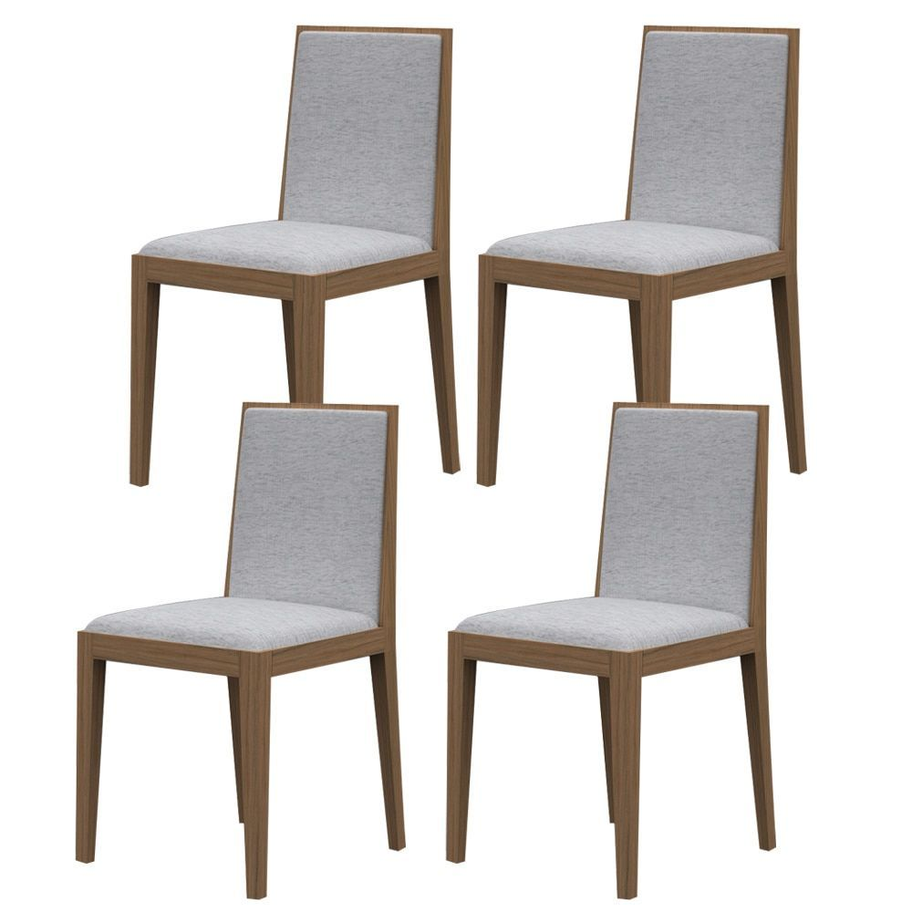 Argo furniture timber dining chair set of xx