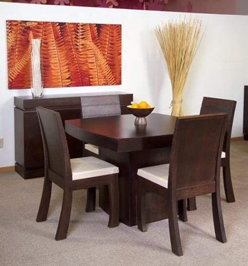 Decoraci n de comedores color chocolate te comparto unas for Desarrollar una gran sala de estar