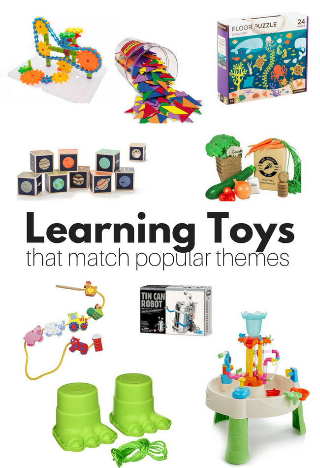 The Best Learning Toys For Popular Preschool Themes ...