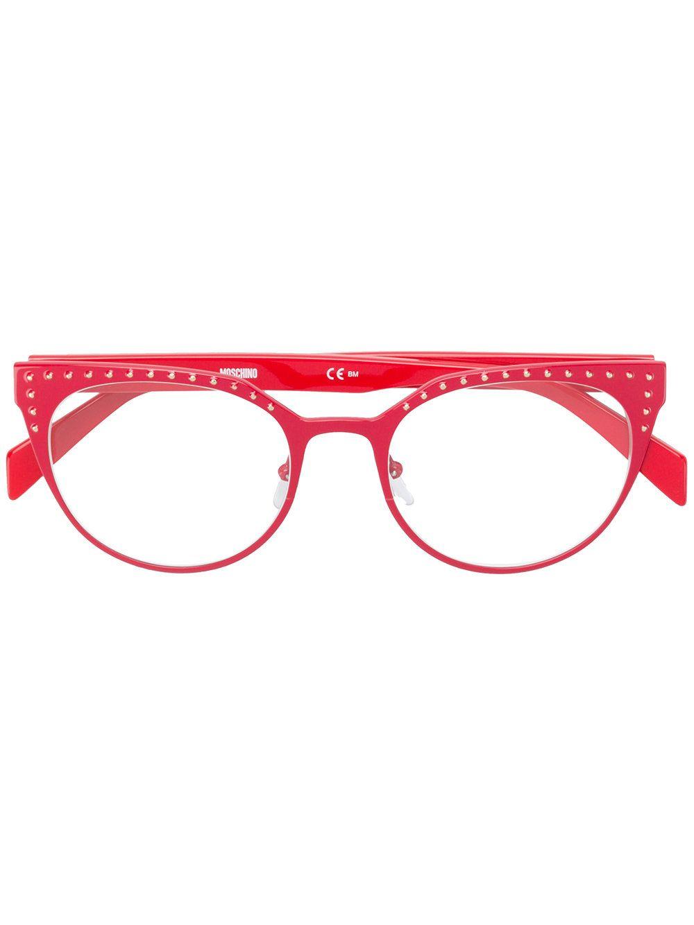 3af8b3613b9f Moschino Eyewear cat eye frame glasses | toWear- GLASSES | Cat eye ...