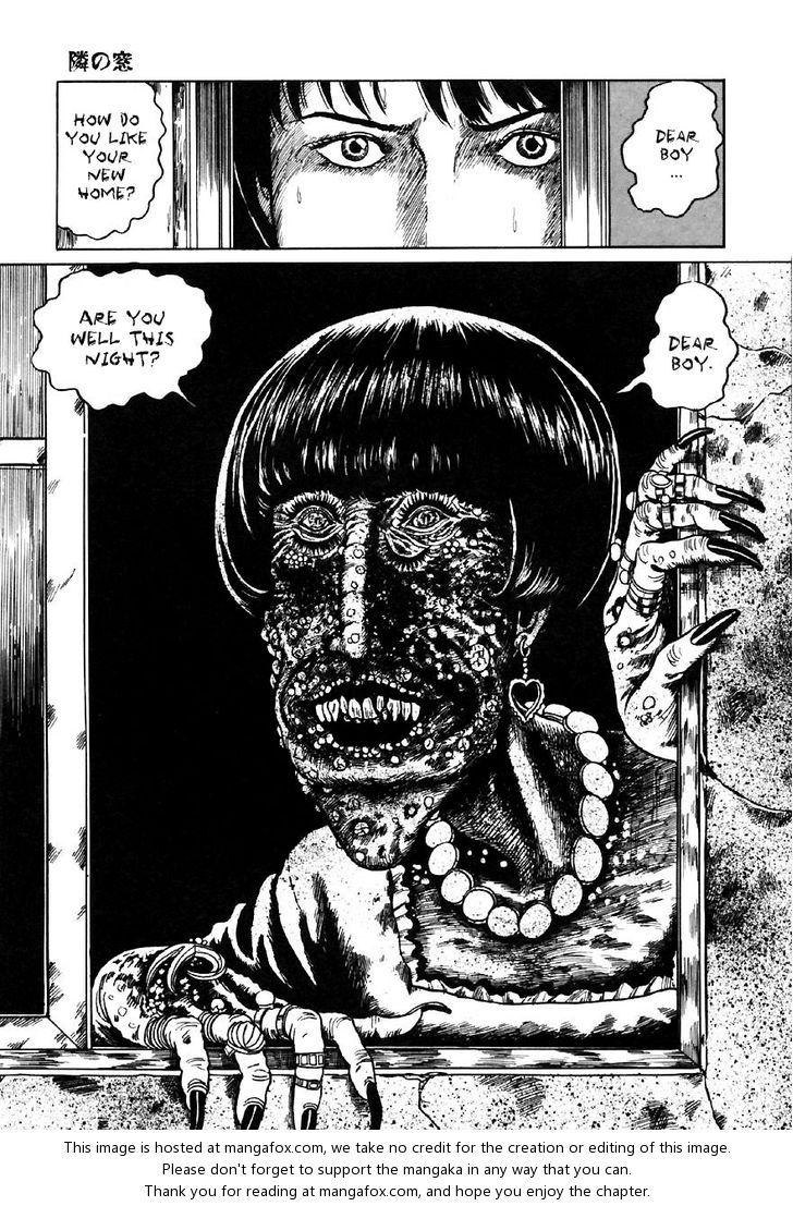 Itou Junji Kyoufu Manga Collection 3 The Window Next Door