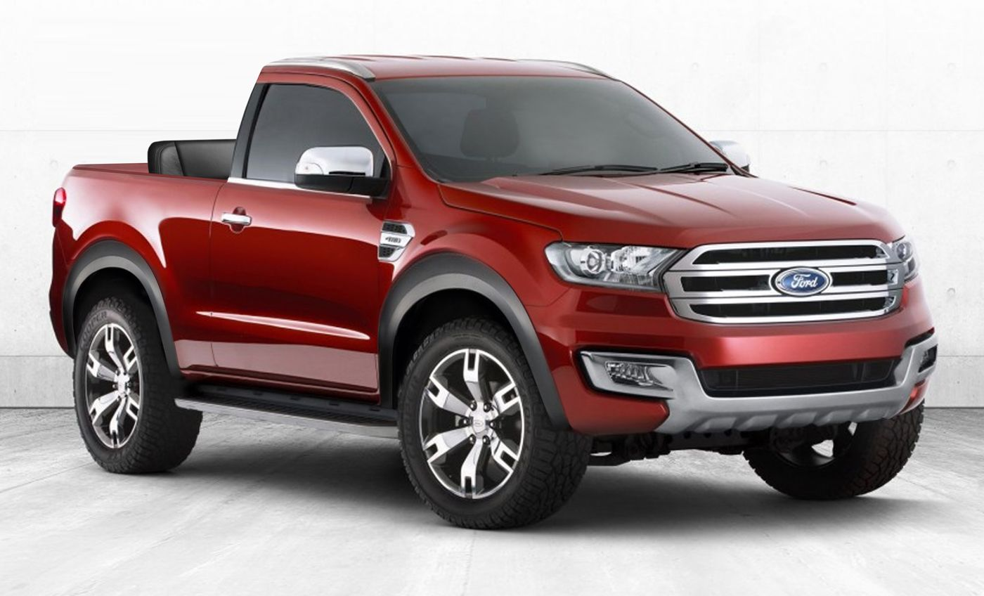 2020 Ford Bronco Concept Rendering Форд