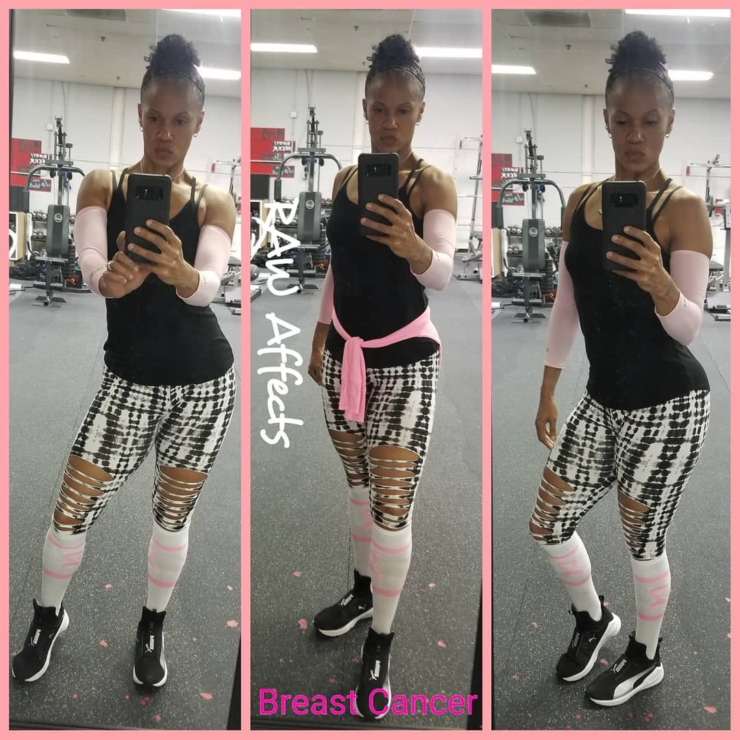 Treat her like you always did. Just show a little extra love. #breastcancerawareness #gopink #fitnes...