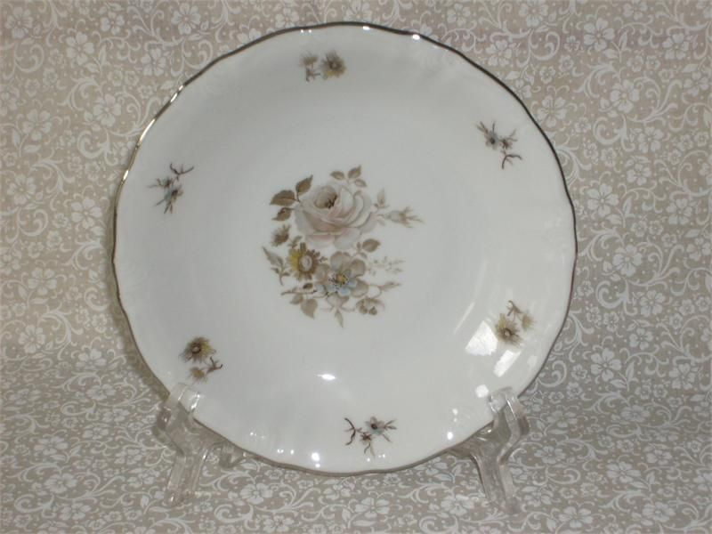 elegant china patterns | WINTERLING FINE CHINA EMPRESS PATTERN (2) COUPE SOUP : elegant china dinnerware - pezcame.com