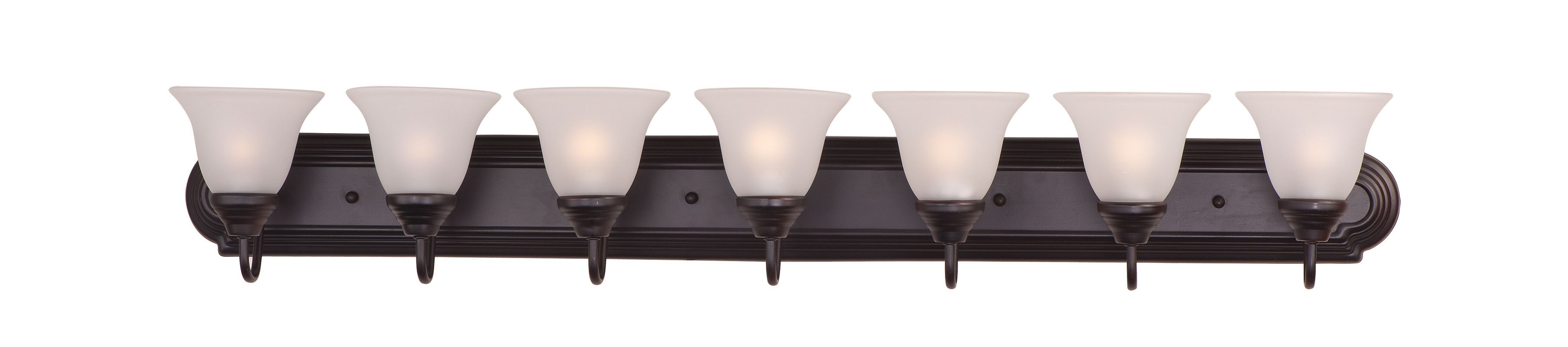 Maxim 8016 7 light 48 wide bathroom fixture from the essentials maxim 8016 7 light 48 wide bathroom fixture from the essentials 801x collecti oil aloadofball Gallery