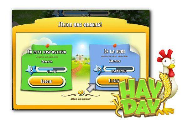 Tutorial para eliminar una granja Hay Day en Android. Para cuando tienes dos granjas en un mismo dispositivo y quieres jugar solamente con una.