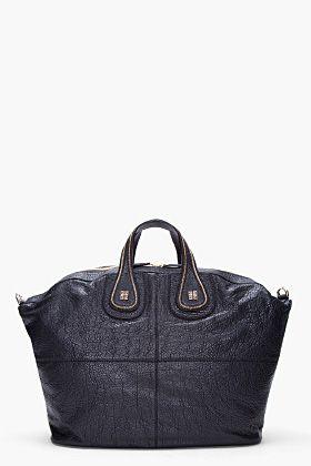 GIVENCHY Large Black Cherokee Nightingale Bag