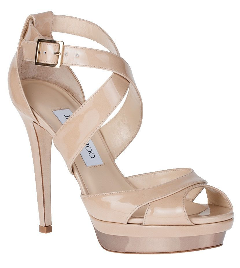 3e5f8f46f0a Kuki patent leather platform sandal Jimmy Choo - Designer Shoes at  ShopSavannahs.com  JimmyChooHeels