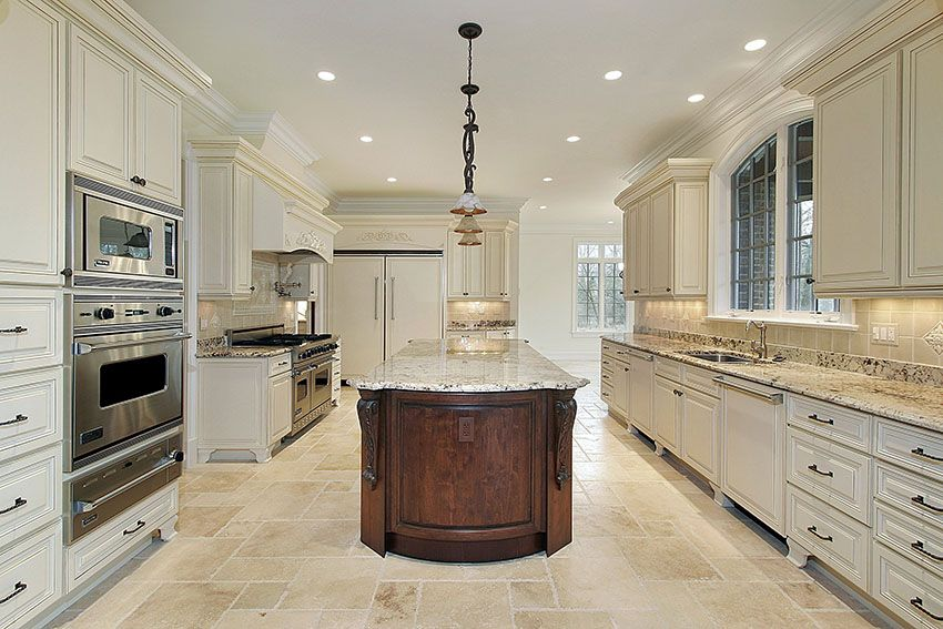 29 Beautiful Cream Kitchen Cabinets Design Ideas Cream Kitchen
