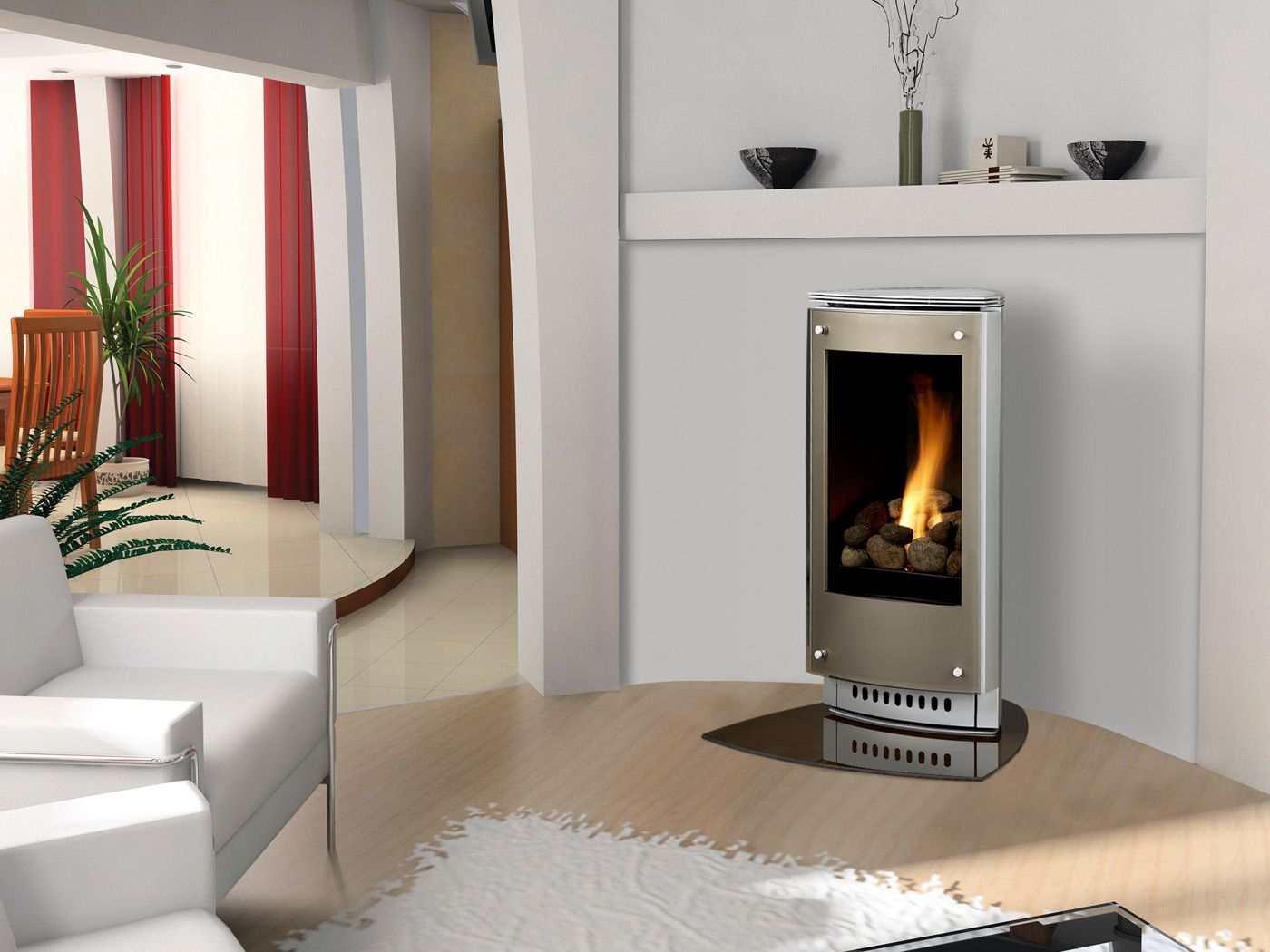 Paloma Gas Stove Freestanding Fireplace Small Gas Fireplace Corner Gas Fireplace