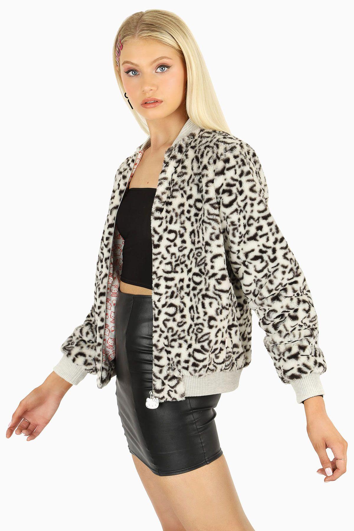 Hello Kitty Friends Furever Bomber Jacket Bm Limited Black Milk Clothing Bomber Jacket Fashion [ 1800 x 1200 Pixel ]