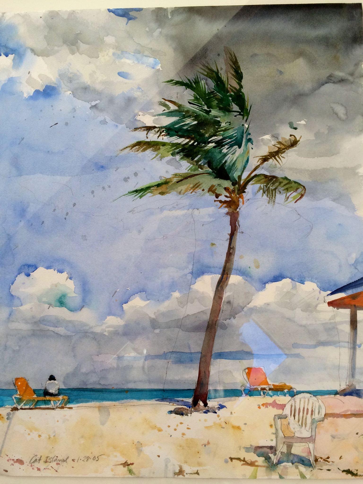 Watercolor artist magazine palm coast fl - Charles Reid Art