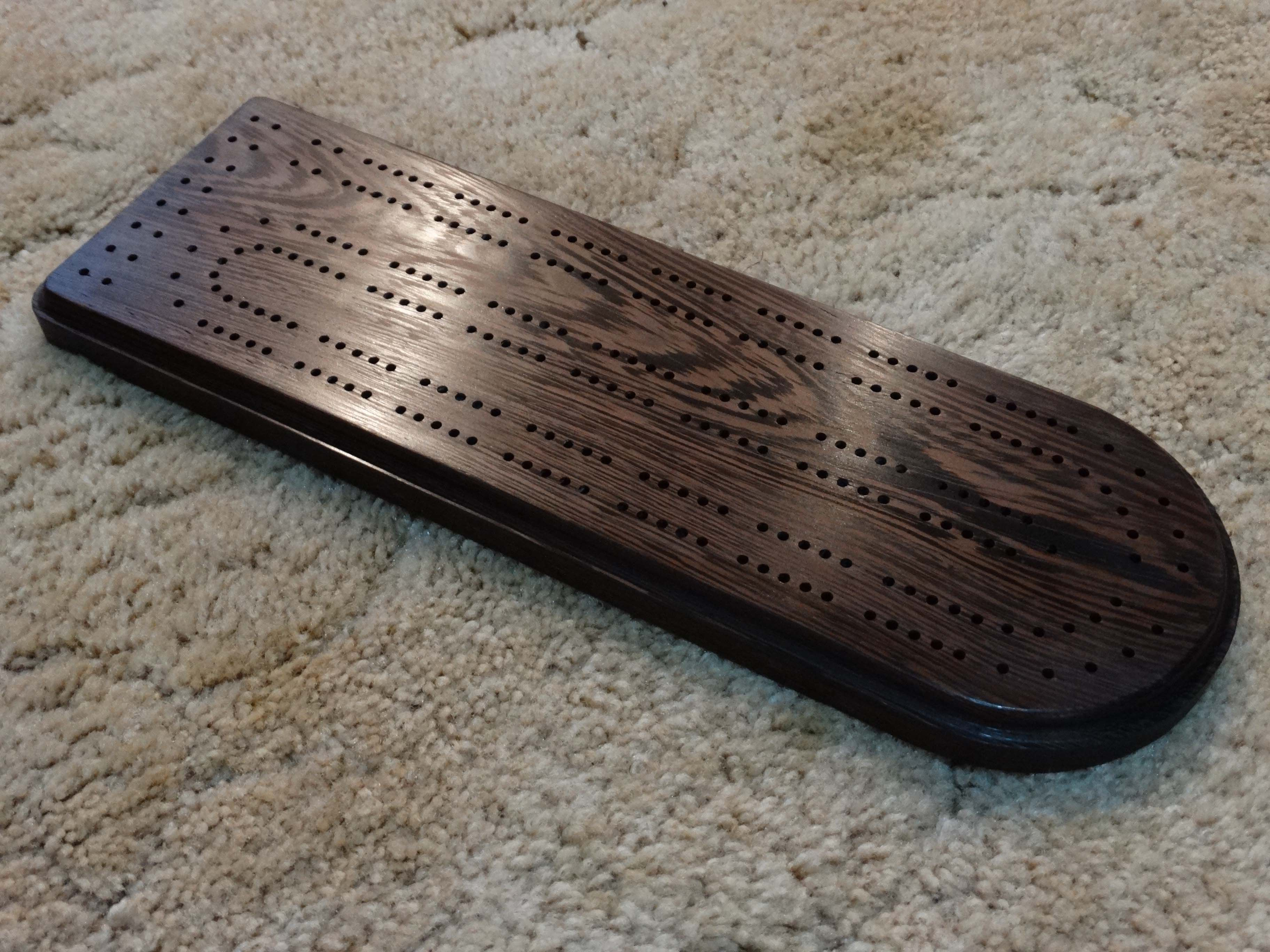 Game Table Cribbage Board Coffee Table in Early by TheRightJack