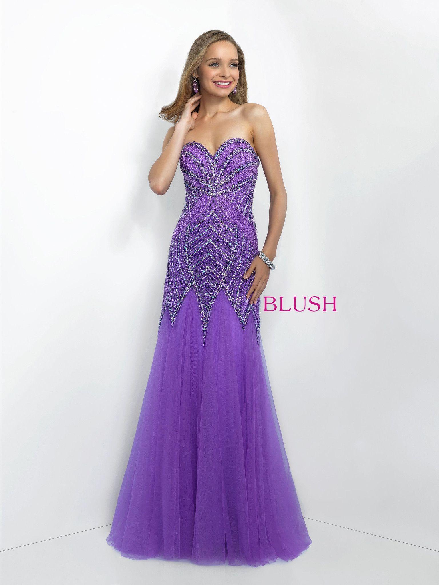 Hermosa Trajes De Etiqueta Prom Empotrados Embellecimiento - Vestido ...