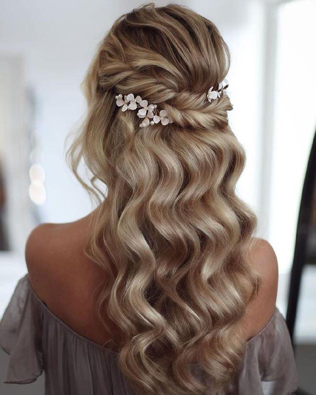 62 romantische frisuren standesamt in 2020   hair styles