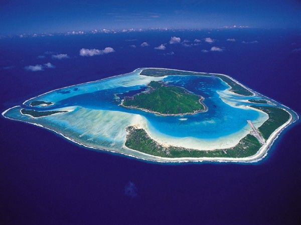 Bora Bora Little Sister Maupiti Island French Polynesia