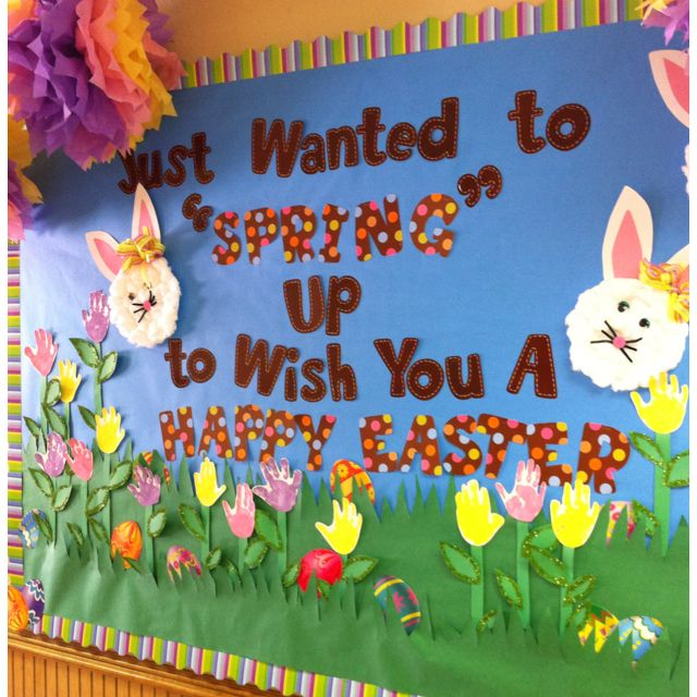 Easter Display Ideas: My Easter Board At School :)