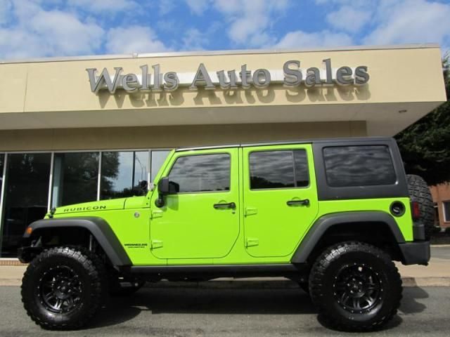Neon Green Jeep Wrangler Unlimited 2012 Jeep Wrangler Unlimited