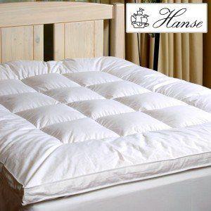 Hanse 5 Star Synthetic Mattress Topper Palace 200x200x5cm Mattress Mattress Topper Comfy Bed