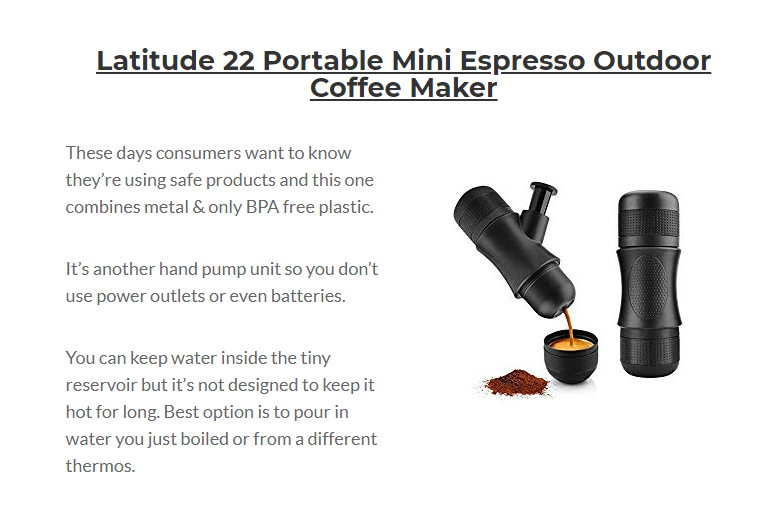 Best Portable Espresso Maker [Review and Buyers' Guide] #espressomaker